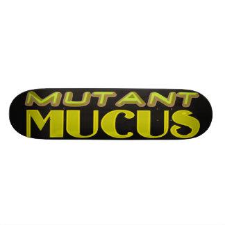 mutant mucus skate board deck