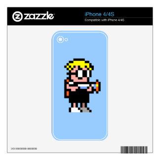 Mutant Mudds iPhone 4/4S Case iPhone 4S Skin