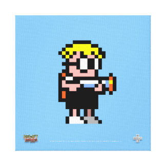 Mutant Mudds on Canvas! Canvas Prints