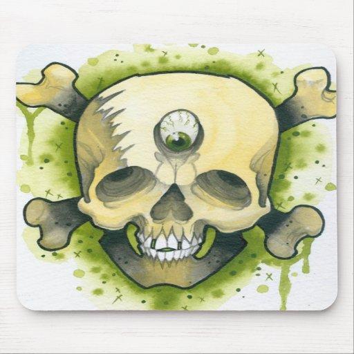 Mutant Skull & Bones Mousepads