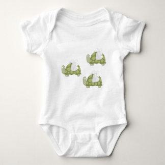 Mutant turtles baby bodysuit
