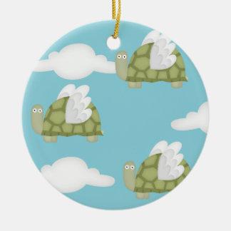Mutant turtles ceramic ornament