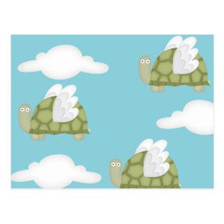 Mutant turtles postcard