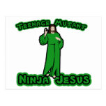 Mutante adolescente Ninja Jesús Postal