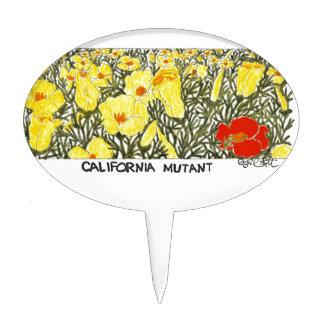Mutante de California Decoraciones Para Tartas