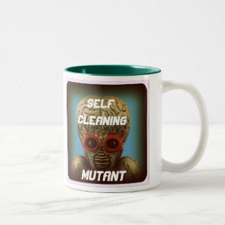 Mutante de la limpieza de uno mismo tazas de café