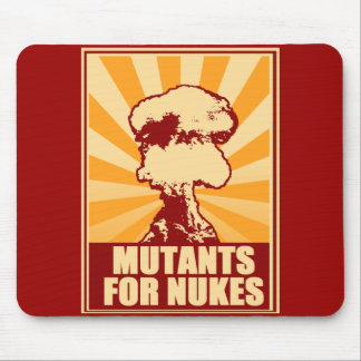 mutants for nukes mouse pad