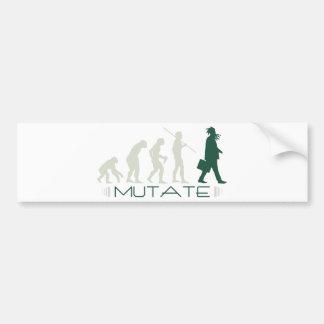 Mutate Bumper Stickers