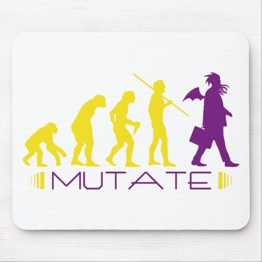mutatepurple mouse pad