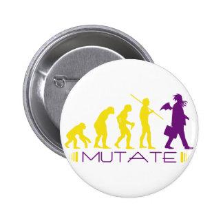 mutatepurple pinback button