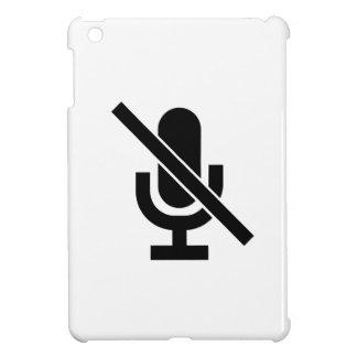 Mute Pictogram iPad Mini Case