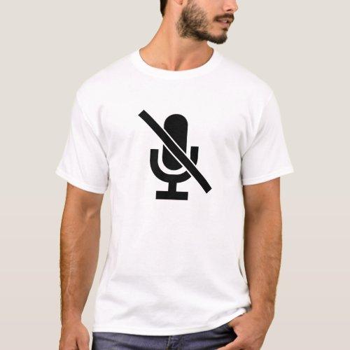 Mute Pictogram T_Shirt