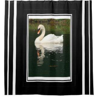 Mute Swan Bird Wildlife Animals Photography Shower Curtain