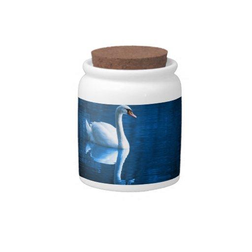 Mute Swan Candy Jar