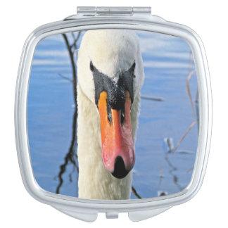 Mute Swan Compact Mirror