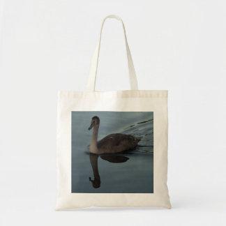 Mute Swan Cygnet Tote Bag