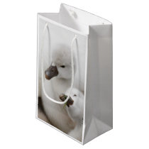Mute Swan Cygnets Small Gift Bag