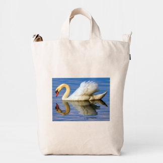 Mute swan, cygnus olor duck bag