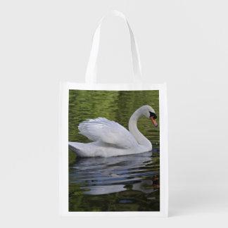 Mute Swan (Cygnus olor) Louisville, Kentucky 2 Grocery Bag