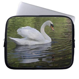 Mute Swan (Cygnus olor) Louisville, Kentucky 2 Computer Sleeve