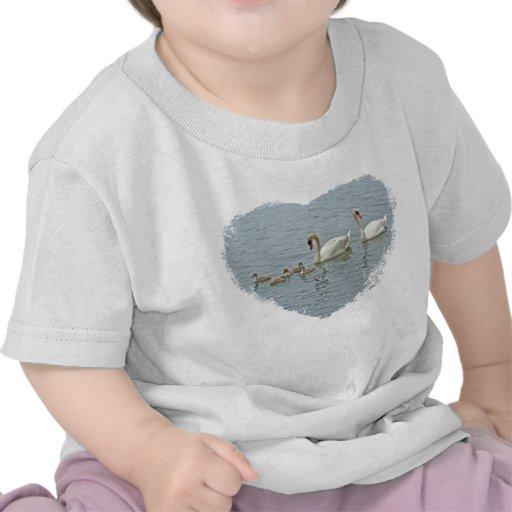 Mute Swan Famly Tee Shirts