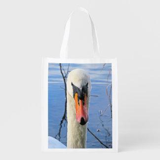 Mute Swan Grocery Bags