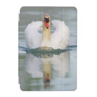 Mute swan in the pond iPad mini cover