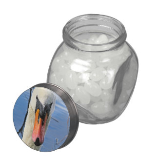 Mute Swan Jelly Belly Candy Jar