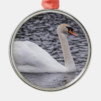 Mute Swan Metal Ornament