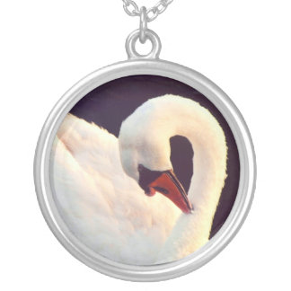 Mute Swan Necklace