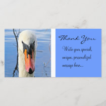 Mute Swan (Thank You) Thank You Card