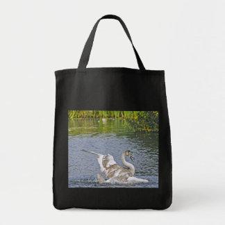 Mute Swan Wildlife Waterfowl Photo Tote Bag