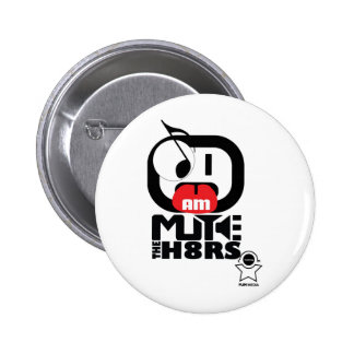 Mute The H8rs Campaign Pins