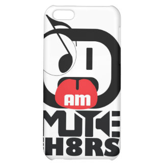 Mute The H8rs Campaign iPhone 5C Cover