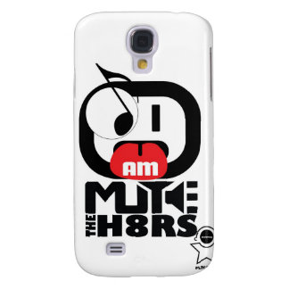 Mute The H8rs Campaign Samsung Galaxy S4 Cover