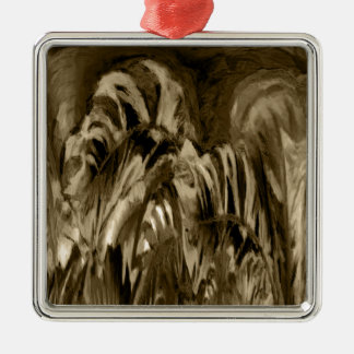 Muted Beauty Metal Ornament