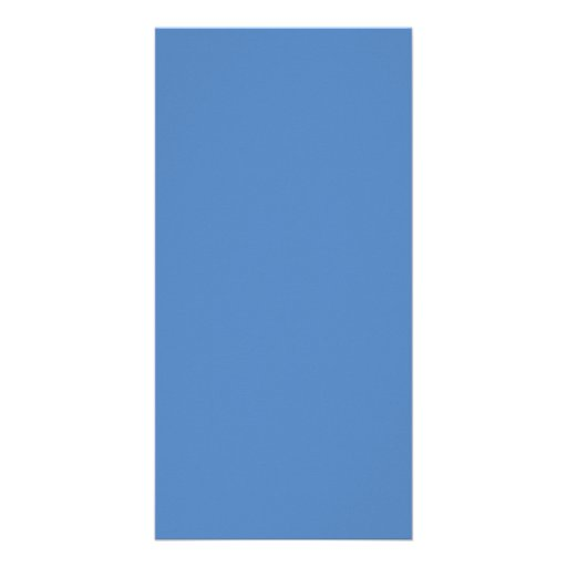 Muted Blue Medium Hanukkah Chanukah Hanukah Personalized Photo Card