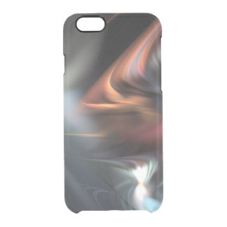 Muted Color Abduction Clear iPhone 6/6S Case