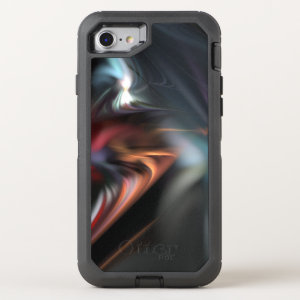 Muted Color Abduction Fractal OtterBox Defender iPhone 7 Case
