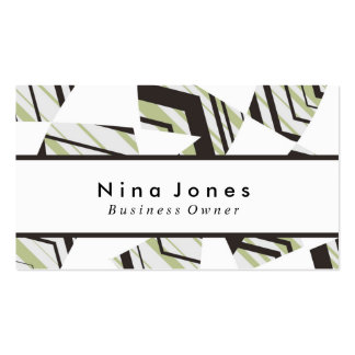 Muted Color Business Card