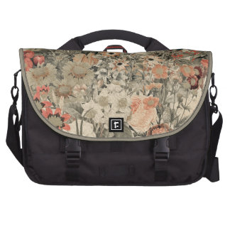 Muted Colors flower collage Commuter Bags