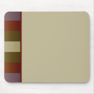 Muted Earthtones Mouse Pad