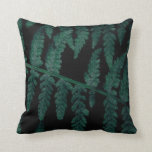 Muted Floral Throw Pillow