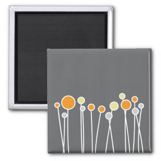 Muted Flowers Magnet - Mod Series