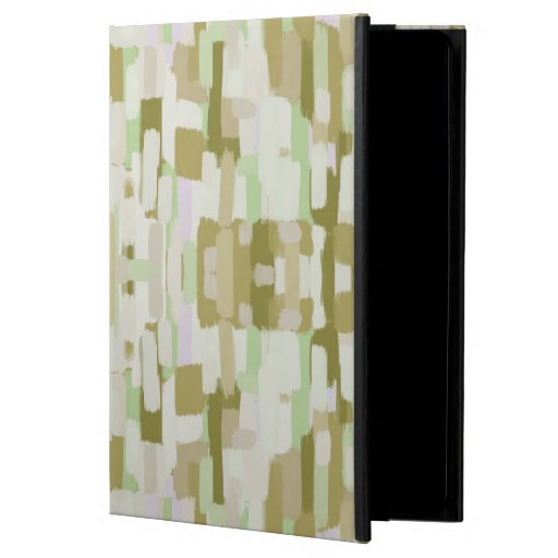 Muted green patterned  case for iPad air