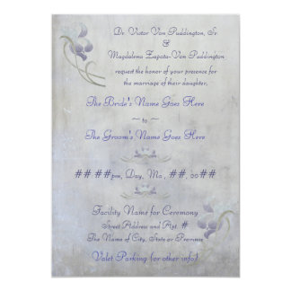 Muted Iris - Chinese Blessings Card