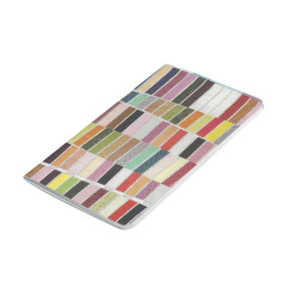 Muted Multicolor Swatches Journal