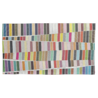 Muted Multicolor Swatches Pillowcase