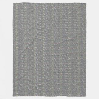 Muted Nuggets Fleece Blanket