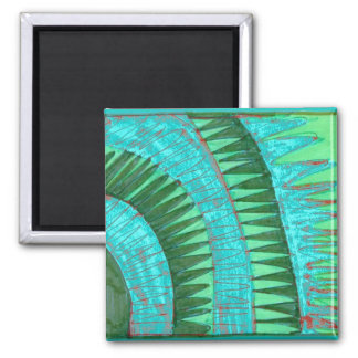 muted passage 2 inch square magnet